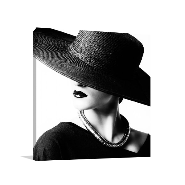 Black Hat Wall Art
