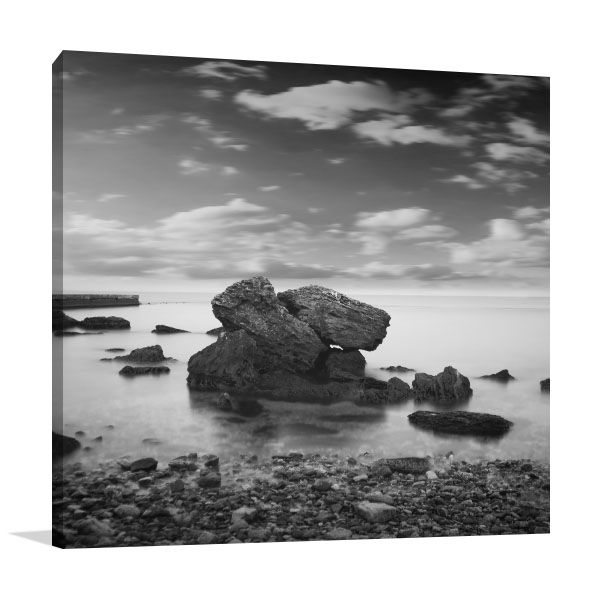 Black Sea Canvas Art Prints