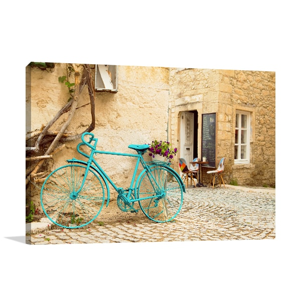 Blue Bicycle Artwork