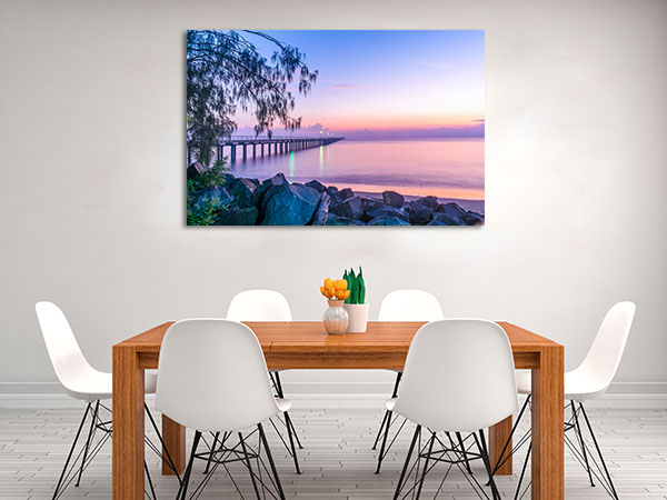 Blue Hour Hervey Bay Canvas Prints