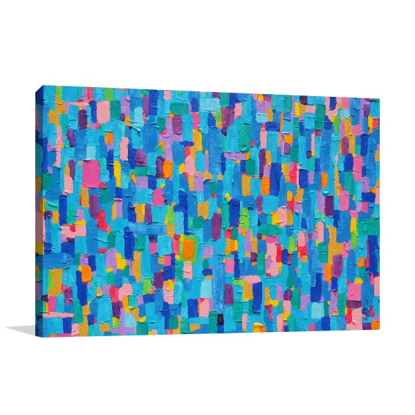 Blue Land Wall Art