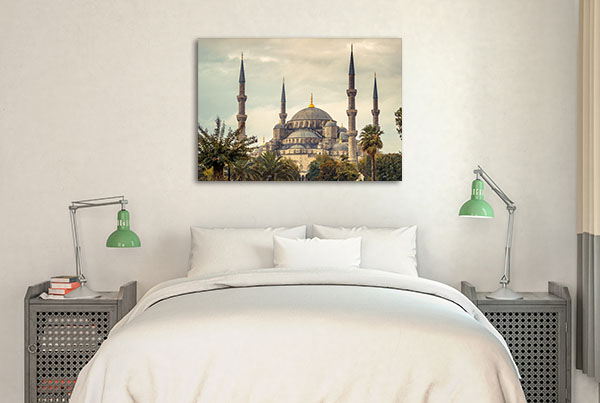 Blue Mosque Istanbul Canvas Art Prints