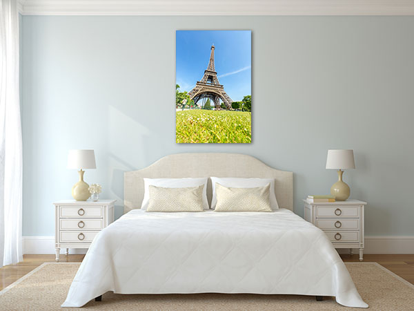 Blue Sky View of Eiffel Tower Artwork