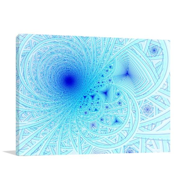 Blue Waves Artwork