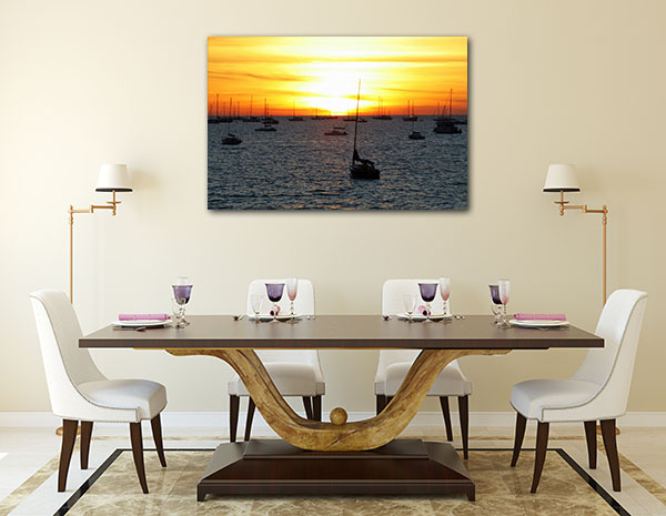 Boat Resting Darwin Prints Canvas