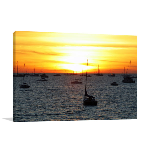 Boat Resting Darwin Canvas Art Prints