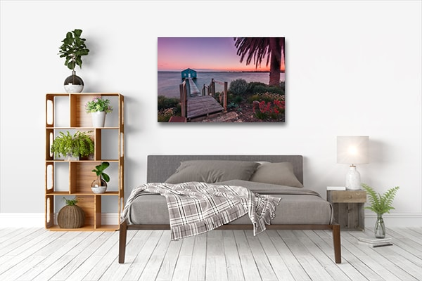 Boat Shed Perth Prints Canvas