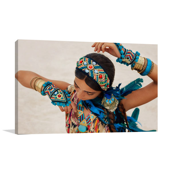 Boho Dance Canvas Art Prints
