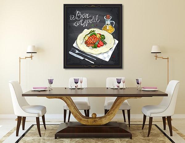 Bon Appetit Prints Canvas