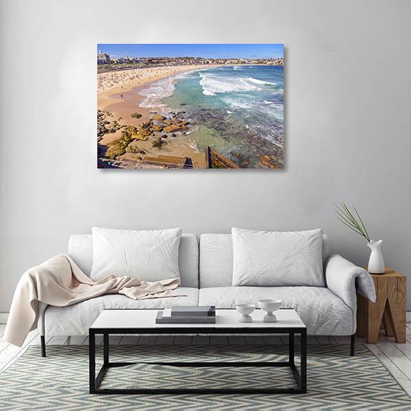 Bondi Sydney Art Print Beach Canvas Wall Art
