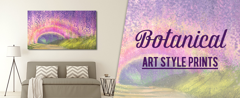 Botanical Canvas Wall Art Print