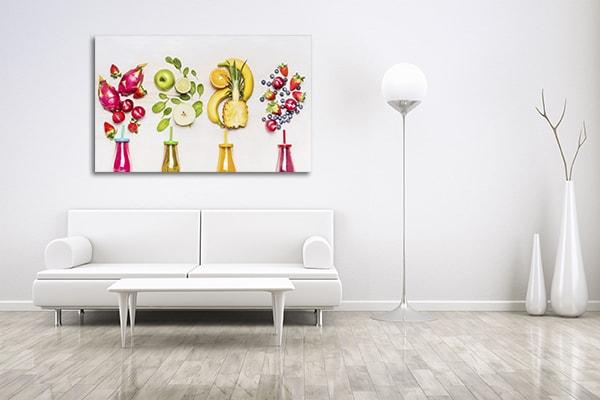 Bottles of Fruits Wall Art
