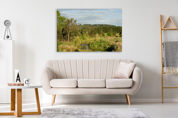 Bowral Wall Print Of Wingecarribee River Wall Art