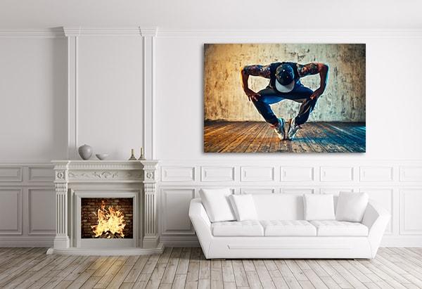 Break Dance Prints Canvas