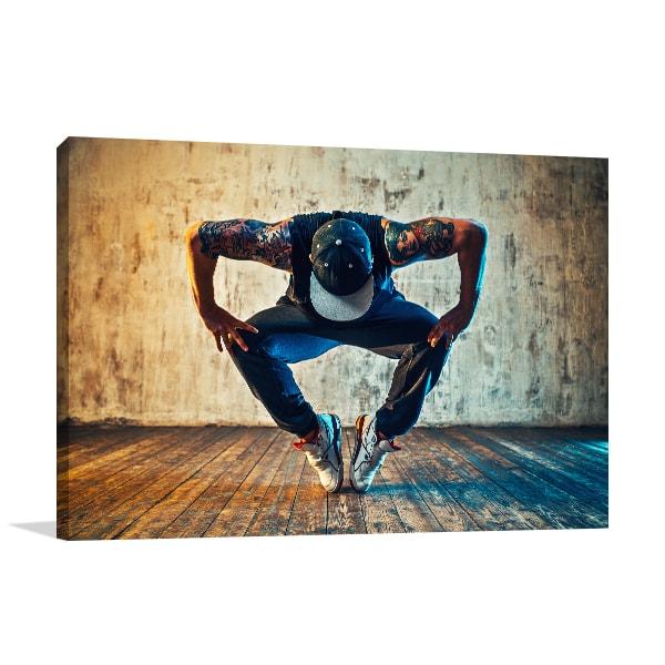 Break Dance Print Artwork