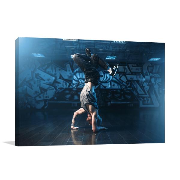 Breakdance Motions Print Artwork