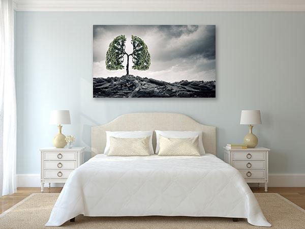 Breathe Healthy Prints Canvas