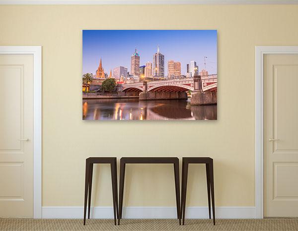 Bridge in Melbourne, Victoria Prints Canvas