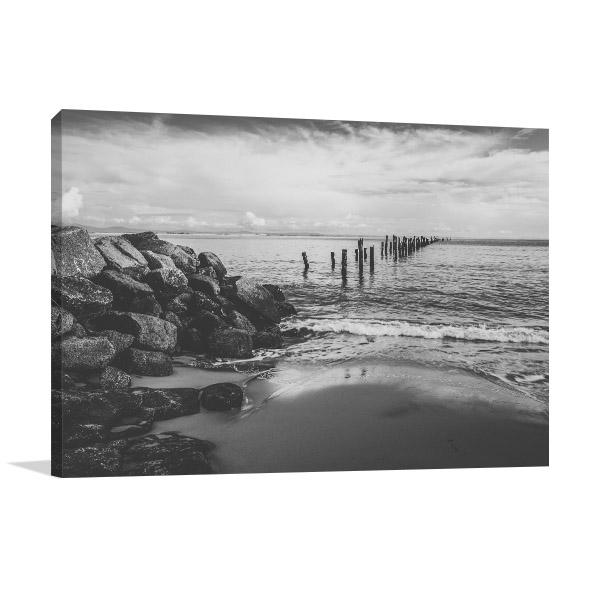 Bridport Photo Art Print Of Beautiful Beach Canvas Photo Print