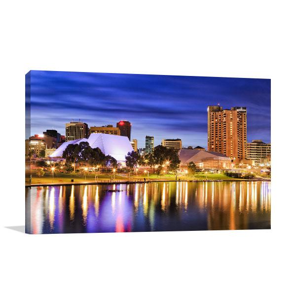 Bright City Lights Adelaide Artwork