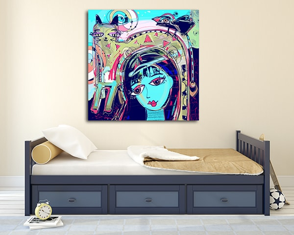 Bright Girl Art Prints