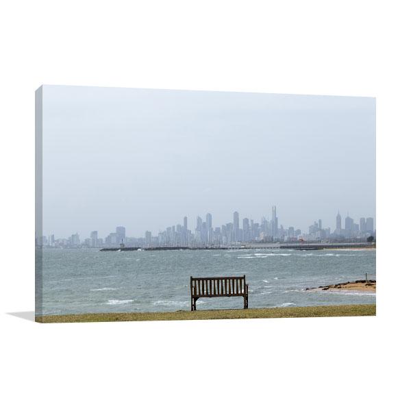Brighton Beach Melbourne Canvas Art Prints