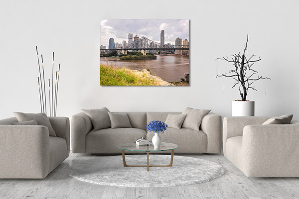Brisbane Art Print History Bridge Print Artwork