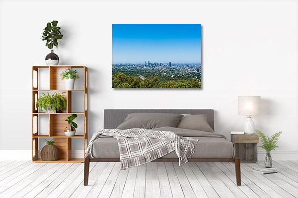 Brisbane Art Print Mt Coot-tha Lookout Print Art Canvas