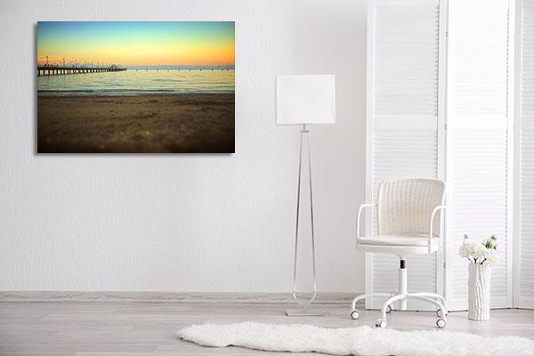 Brisbane Beach Canvas Prints Canvas