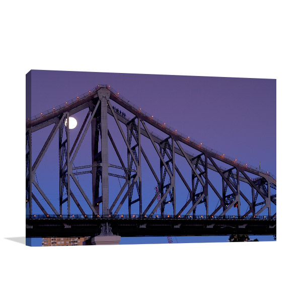 Brisbane Canvas Print Story Bridge Photo Wall