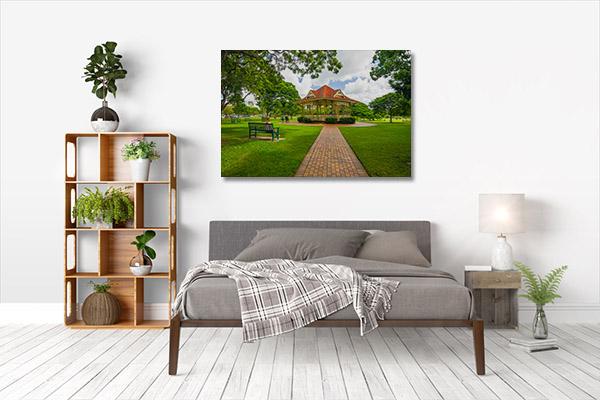 Brisbane Queensland Art Print Farm Park Canvas Wall Art