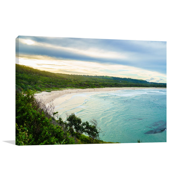 Broken Head Beach Prints Canvas