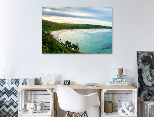 Broken Head Beach Wall Art Print