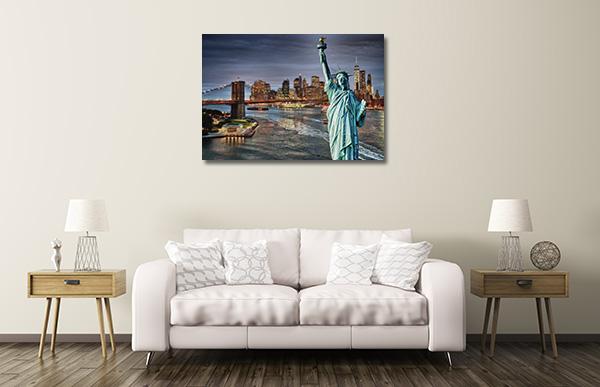 Brooklyn Bridge Night Artwork