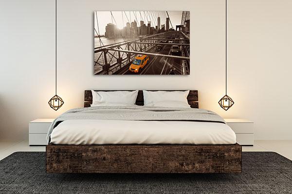 Brooklyn Bridge Traffic Artwork