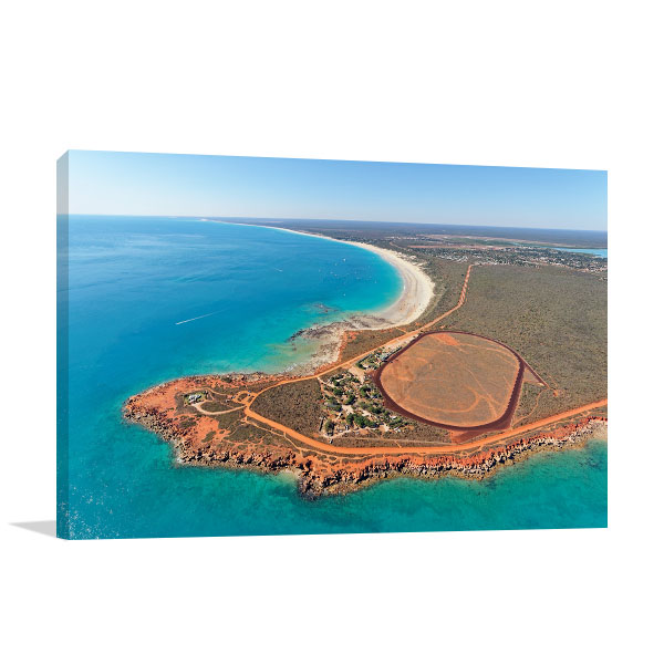 Broome Art Print Beach Aerial View Canvas Prints