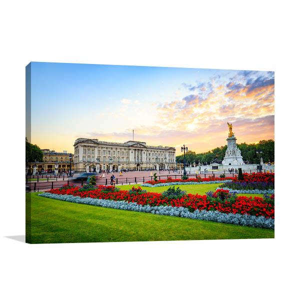 Buckingham Palace in London Prints Canvas