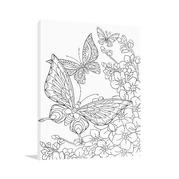 Butterflies Canvas Art