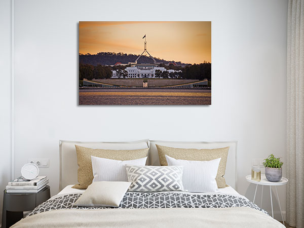 Canberra Parliament House Canvas Prints