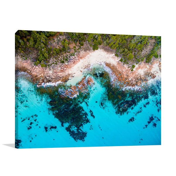 Cape Naturaliste Art Print Margaret River Print Wall Art