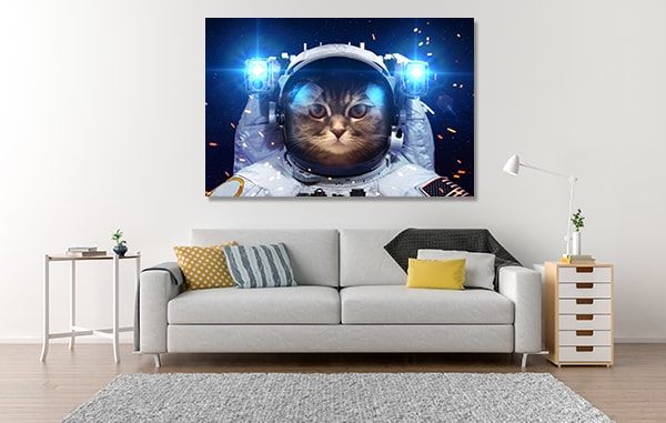 Cool Galaxy Artwork For Sale In Cat Outer Space Art Print