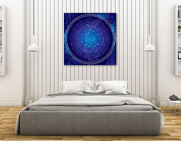 Celestial Map Canvas Art Prints