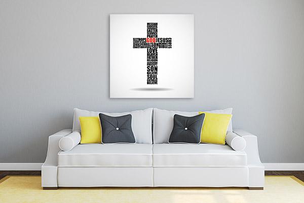 Christian Symbol Print Artwork