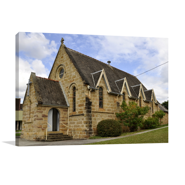 Church in Nowra Wall Art