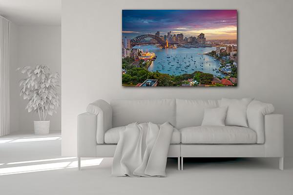 Cityscape Sydney Artwork