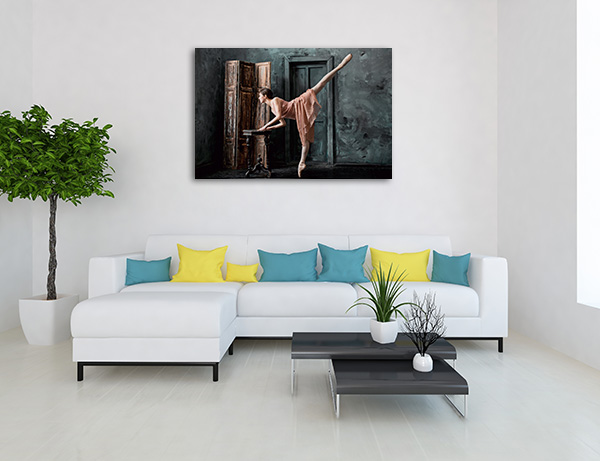 Classic Ballerina Wall Art
