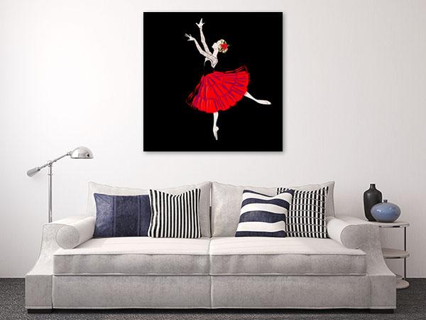 Classical Ballet Dancer Prints Canvas