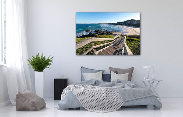 Clear Sky Port Macquarie Print Artwork