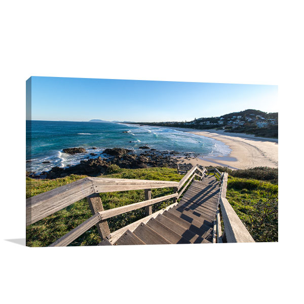 Clear Sky Port Macquarie Canvas Prints