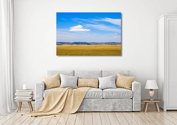 Cloud Over Field Canberra Wall Art